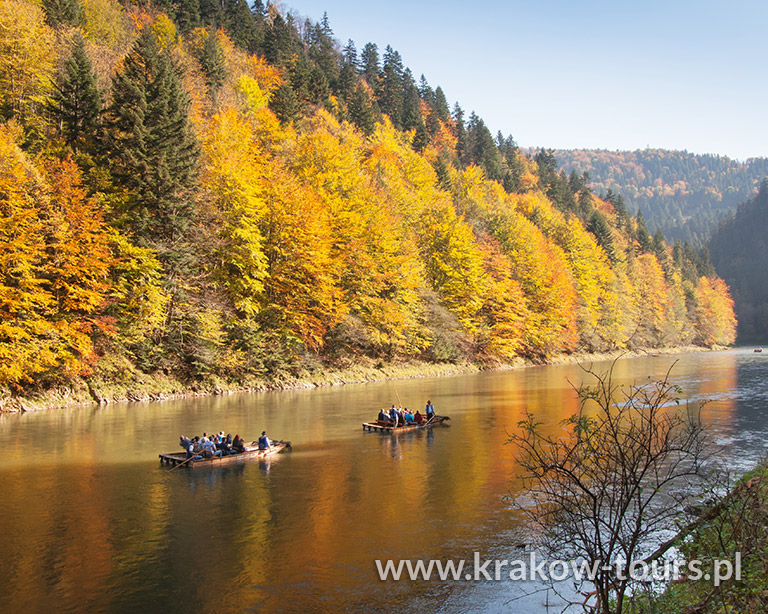 9. Raft Trip on Dunajec River