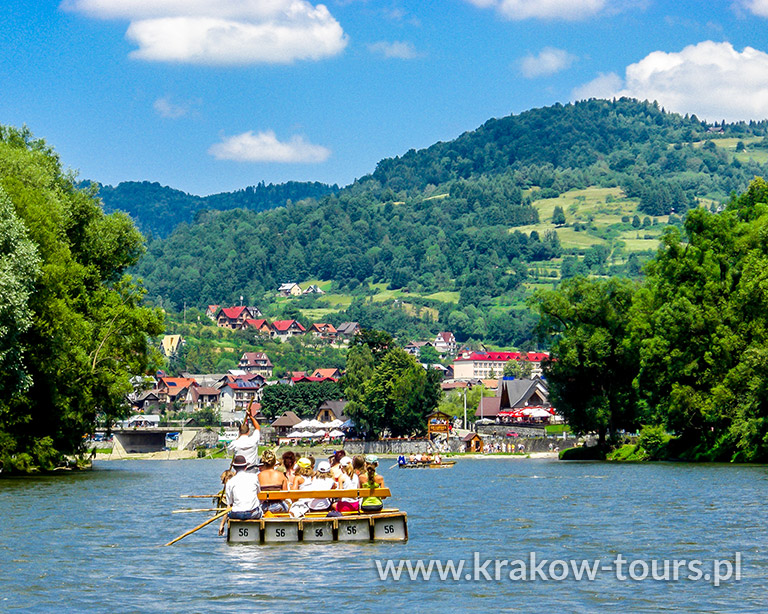 P9 Raft Trip on Dunajec River Private Tour