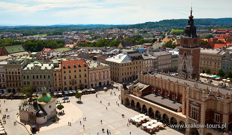 P1 Krakow City Sightseeing Private Tour