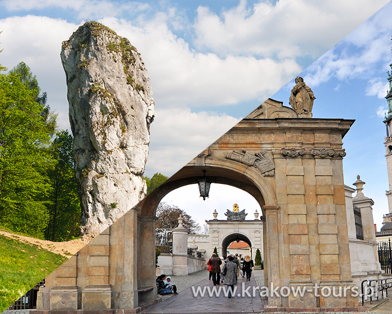 P5+P7. National Park Ojcow & Czestochowa Private Tour 2 Tours in 1 Day