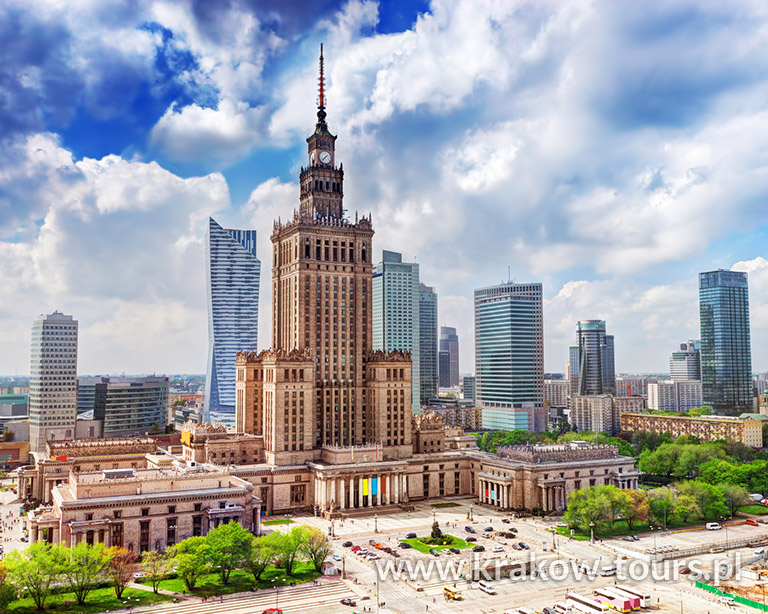 Warsaw the capital of Poland
