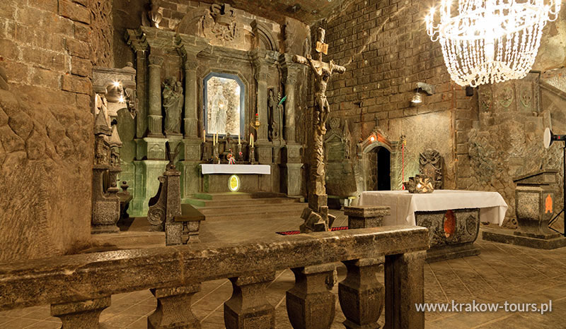 3. Salt Mine Wieliczka tour from July to August 2018